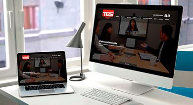 Novo projeto entregue: Site TES