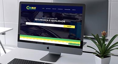 Website Carmat Autopeças